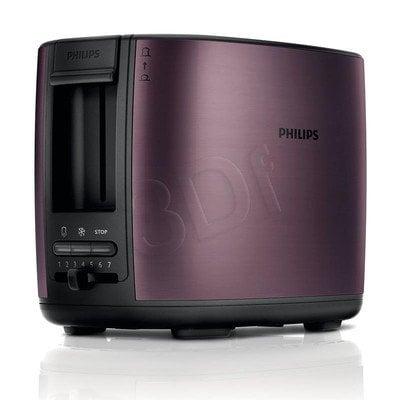 Toster Philips HD2628/90 (950W/czarno-liliowy)
