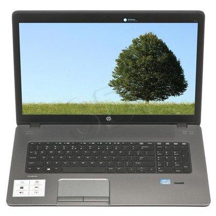 """HP ProBook 470 G2 i3-4010U 4GB 17,3"""" HD+ 500GB HD4400 Win7P Win8.1P Czarny K9J28EA 1Y"""