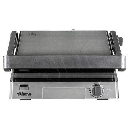 Grill elektryczny Tristar GR-2851 (2000W stołowy-zamykany, srebrny)