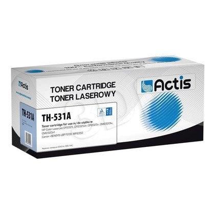 Actis TH-531A cyan toner do drukarki laserowej HP (zamiennik 304A CC531A) Standard
