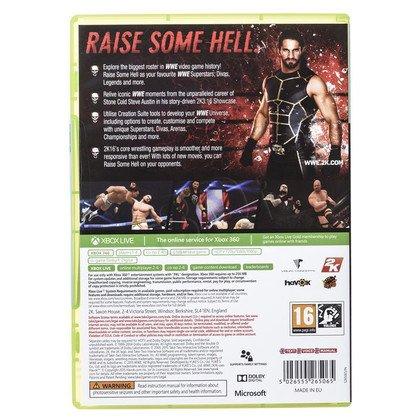 Gra Xbox 360 WWE 2K16