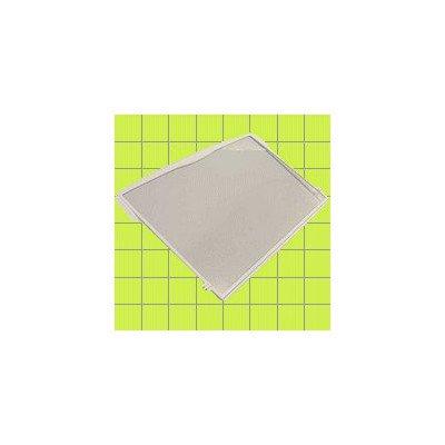 Półki na plastikowe i druciane r Półka szklana kompletna do lodówki Whirlpool (481245088217)