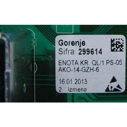 Elektronika bez oprogramowania pralki (299614)