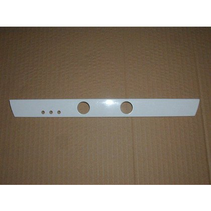 Panel 600 inox (z otworem) 8017285
