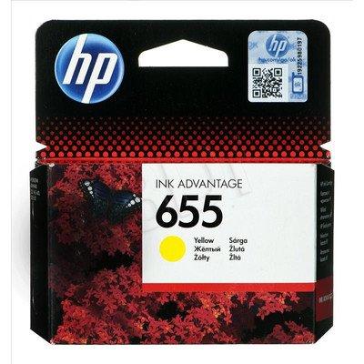 HP Tusz Żółty HP655=CZ112AE, 600 str.