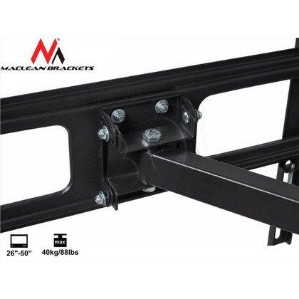 "MACLEAN UCHWYT DO TELEWIZORA 26-50"" MC-601 MAX VESA 400X400 40KG TV"