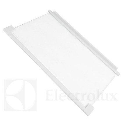Półka szklana z ramkami 520x320 mm (długość szyby 490 mm) (2425099476)
