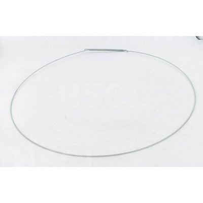 Obejma fartucha zewnętrzna ze sprężynką pralki (481249298011)