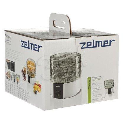 Suszarka do grzybów i owoców Zelmer ZFD1250W (FD1001) (520W Biało-czarny)