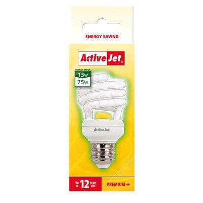 ActiveJet Świetlówka AJE-S15P E27/15W -->75W - 10000h
