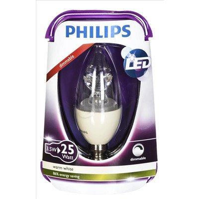 Philips żarówka LED 8718291743330 (świeczka 250lm 3,5W E14 ciepła biel)