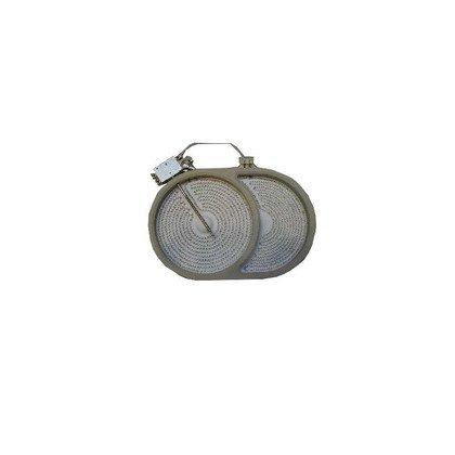 Płytka grzejna ceramiczna 170x265S 2200W 230V (8001839)