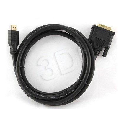 GEMBIRD KABEL DO MONITORA DVI-D(18+1) - HDMI(19PIN) 0.5M