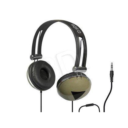 Słuchawki nauszne z mikrofonem SBS STUDIO MIX DJ EASY (Czarno-khaki)