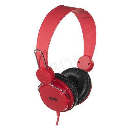 Słuchawki nauszne AEG KH 4224 (Czerwony)