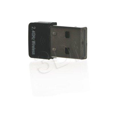 Adapter WiFi FERGUSON W02 (bezprzewodowa karta sieciowa na USB 802.11b/g/n)