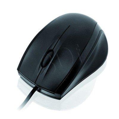 MYSZ I-BOX CROW OPTYCZNA PRZEWODOWA, USB BLACK