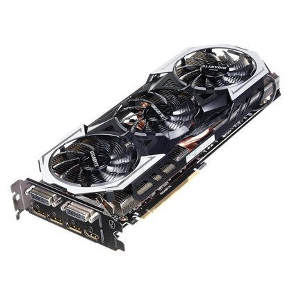 GIGABYTE GeForce GTX 980 Ti 6144MB DDR5/384bit DVI/HDMI/DP PCI-E (1291/7010) (wer. OC - Gaming)