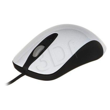 Steelseries Mysz przewodowa optyczna KINZU V3 4000cpi biało-czarna