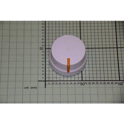 Pokrętło białe - wskaźnik pomarańczowy (1041048)