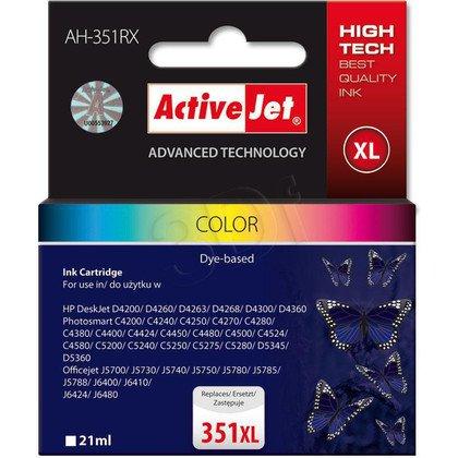 ActiveJet AH-351RX (AH-E38) tusz kolorowy do drukarki HP (zamiennik HP 351XL CB338EE)