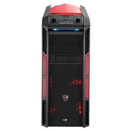 OBUDOWA AEROCOOL XPREDATOR X3 DEVIL RED - USB3.0 - CZARNO-CZERWONA