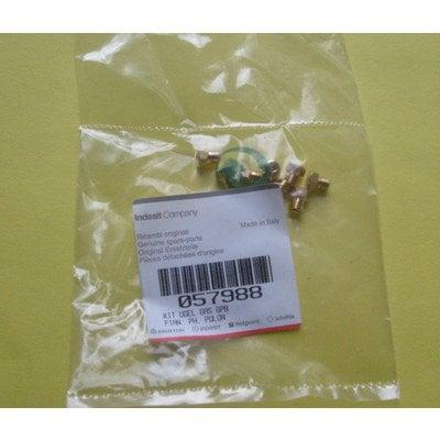 Zestaw dysz gazowych G30/31 propan-butan (C00057988)