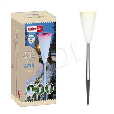 Lampa solarna Dioda LED RGB AZYR AJE-5551-DEK Żółta