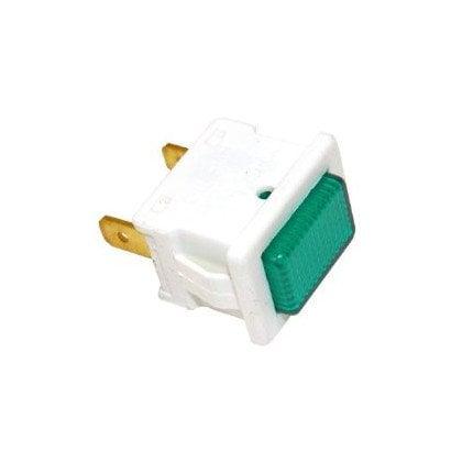 Lampka (kontrolka zielona) zamrażarki Whirlpool (481913448298)
