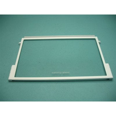 Półka szklana z ramkami 446x263 mm (8042581)