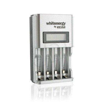 WHITENERGY ŁADOWARKA 4xAA/AAA LCD 1800mA