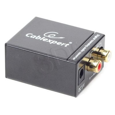GEMBIRD ADAPTER DIGITAL AUDIO TOSLINK - ANALOG RCA