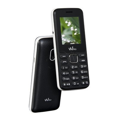 """Telefon WIKO Lubi 4 1,77"""" czarny/biały"""
