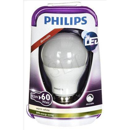 Philips żarówka LED 8718291744658 (tradycyjna żarówka 806lm 10W E27 ciepła biel)