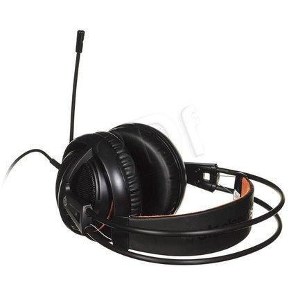 Słuchawki wokółuszne z mikrofonem Steelseries SIBERIA200 (Czarny)