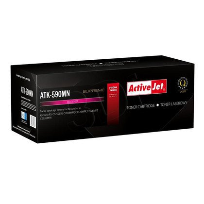 ActiveJet ATK-590MN toner Magenta do drukarki Kyocera (zamiennik Kyocera TK-590M) Supreme