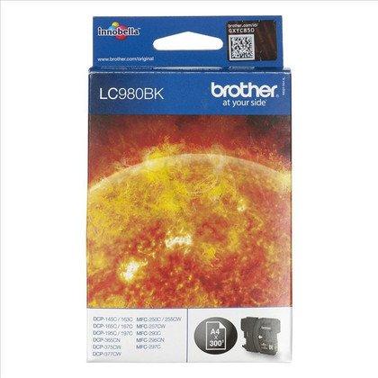BROTHER Tusz Czarny LC980BK=LC-980B, 300 str.