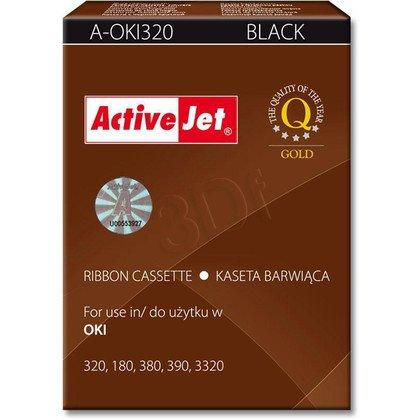 ActiveJet A-OKI320 kaseta barwiąca kolor czarny do drukarki igłowej Oki (zamiennik 09002303)