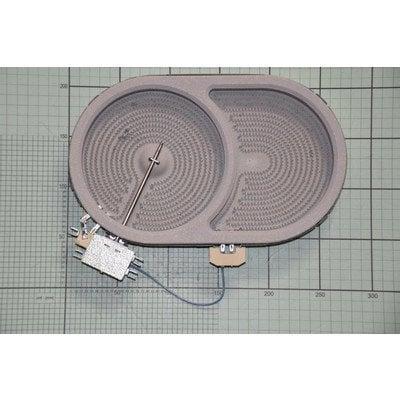 Płytka grzejna ceramiczna 140x250S 2000W 230V (8001833)
