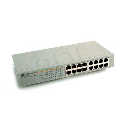 Allied Telesis Unmanaged (AT-FS716L) 16x10/100Mbps Rack Switch, wew. zasilacz