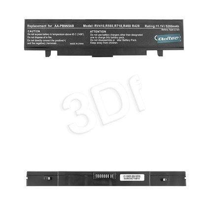 QOLTEC BATERIA DO NTB SAMSUNG R580, 5200mAh, 11.1V