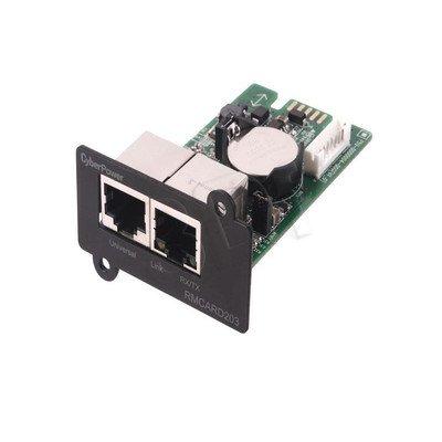 KARTA SIECIOWA CYBERPOWER RMCARD203 (zarządzajaca 1xRJ45 + 1xRJ45 na czujnik środowiska, pasuje do modeli OR,PR)