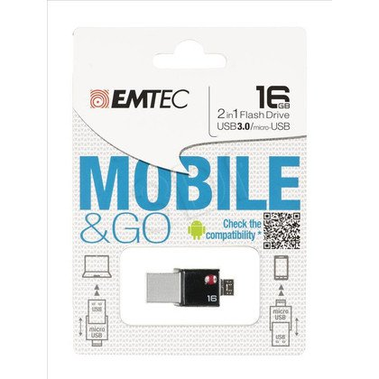 EMTEC FLASH MOBILEGO OTG T200 16GB USB 3.0