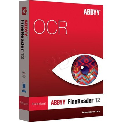ABBYY PROGRAM OCR FINEREADER 12 PRO UPG PL
