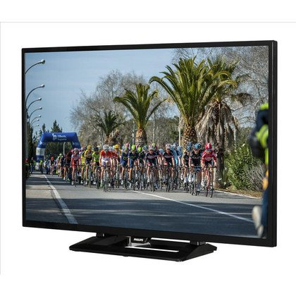 "TV 40"" LCD LED Philips 40PFH4100/88 (Tuner Cyfrowy 100Hz USB)"