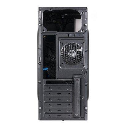 OBUDOWA AEROCOOL V2X BLACK/BLUE - USB3.0 - CZARNO-NIEBIESKA