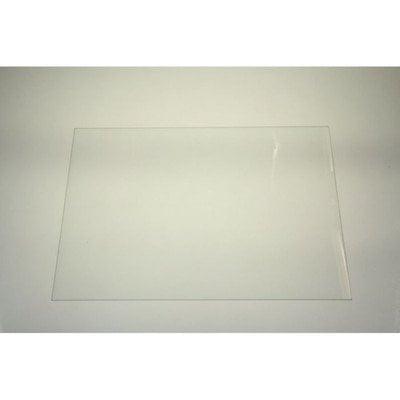 Półki na plastikowe i druciane r Półka szklana nad pojemniki na warzywa (33,5x48cm) Whirlpool (481946678231)