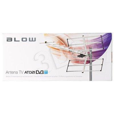 Antena DVB-T Blow ATD 21 Kierunkowa Zewnętrzna 470-860MHz 16dB Złącze Typu F
