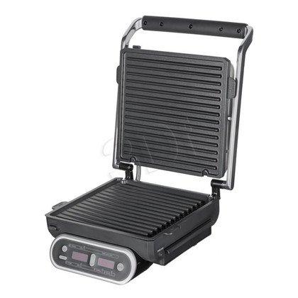 Grill elektryczny Morphy Richards 48018 Intelligril (1800W stołowy-zamykany, srebrno-czarny)