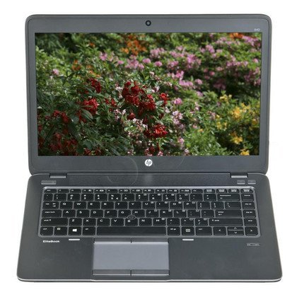 "HP EliteBook 840 G2 i5-5200U 4GB 14"" HD+ 500GB HD5500 HSPA+ Win7P Win8.1P Szary G8R97AV 3Y"